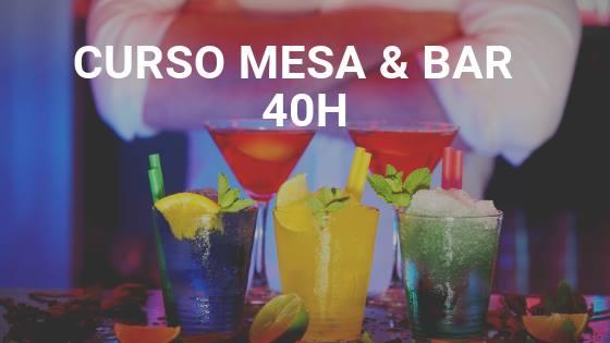 Curso Mesa e Bar 40h