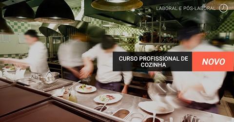 Curso de Base de Cozinha Horário LABORAL