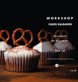 Workshop Cakes Salgados