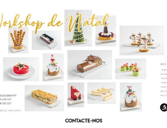 Workshop de Natal – Bolos (dia 15)