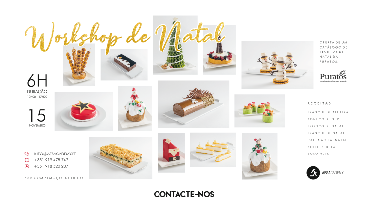 Workshop de Natal - Bolos (dia 15)