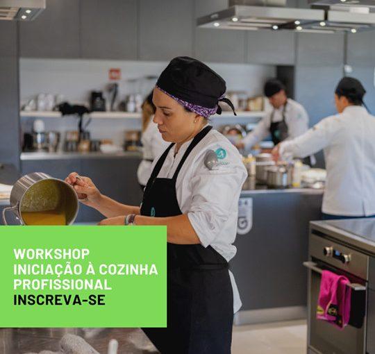 Workshop Iniciação à Cozinha Profissional