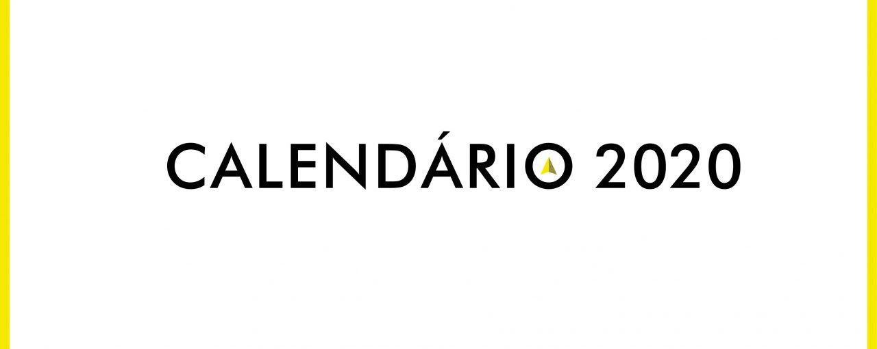 Feliz 2020! Com o Nosso Calendário.