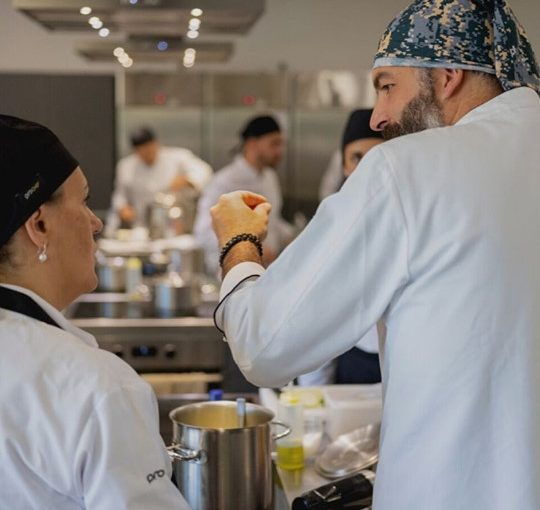 - Iniciação à Cozinha Profissional