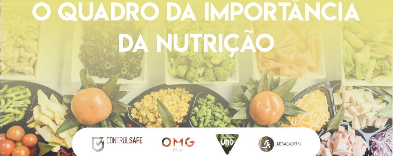 O quadro da importância da nutrição