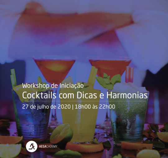 Workshop de Iniciação – Cocktails com Dicas e Harmonias