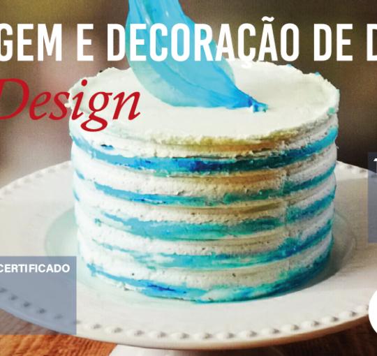 Curso de Modelagem e Decoração de Doces – Cake Design